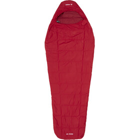 VAUDE Sioux 100 Syn Slaapzak en Inlet, dark indian red